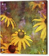 Yellow Among Purple 4234 Idp_2 Acrylic Print