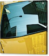 Yellow Cab, Big Apple Acrylic Print