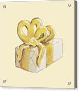 Yellow Present Acrylic Print