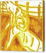 Yellow Ram Acrylic Print