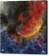Ying Yang Fire And Water Acrylic Print