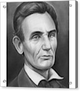 Young Lincoln Lawyer Acrylic Print