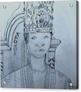 Young His Royal Highness Kabaka Ssabasajja Ronald Edward Frederick Kimera Muwenda Mutebi II  Acrylic Print