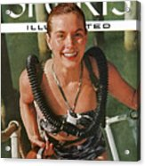 Zale Parry Girl Skin Diver Sports Illustrated Cover Acrylic Print