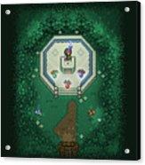 Zelda Mastersword Acrylic Print