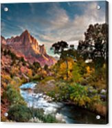 Zion And The Acrylic Print