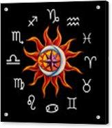 Zodiac Transparent Acrylic Print