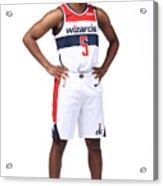 2020-21 Washington Wizards Content Day Acrylic Print