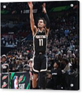 2020 NBA All-Star - MTN DEW 3-Point Contest Acrylic Print