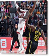 2020 NBA Finals - Miami Heat v Los Angeles Lakers Acrylic Print