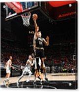 2021 NBA Playoffs - Milwaukee Bucks v Atlanta Hawks Acrylic Print