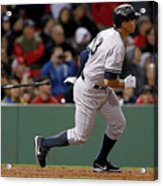 Alex Rodriguez and Willie Mays Acrylic Print