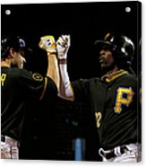 Andrew Mccutchen and Neil Walker Acrylic Print
