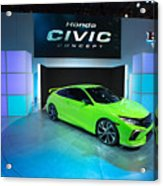 Automakers Showcase New Models At New York International Auto Show Acrylic Print