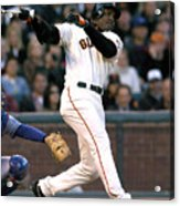 Barry Bonds Acrylic Print