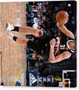 Charlotte Hornets v Denver Nuggets Acrylic Print