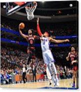 Chicago Bulls v Philadelphia 76ers Acrylic Print