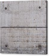 Concrete Wall Background Acrylic Print