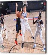 Dallas Mavericks v LA Clippers - Game One Acrylic Print