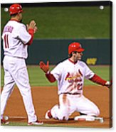 David Freese Acrylic Print