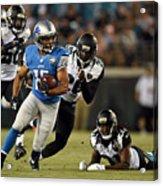 Detroit Lions v Jacksonville Jaguars Acrylic Print