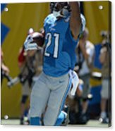 Detroit Lions v San Diego Chargers Acrylic Print