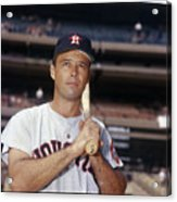 Eddie Mathews Acrylic Print