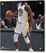 Golden State Warriors v Brooklyn Nets Acrylic Print