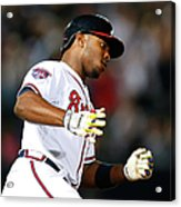 Justin Upton and Jason Heyward Acrylic Print