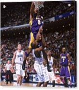 Kobe Bryant and Dwight Howard Acrylic Print