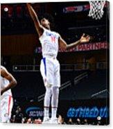 LA Clippers v Atlanta Hawks Acrylic Print