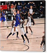 LA Clippers v Dallas Mavericks - Game Three Acrylic Print