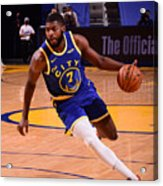 LA Clippers v Golden State Warriors Acrylic Print