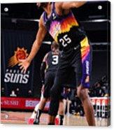 LA Clippers v Phoenix Suns Acrylic Print