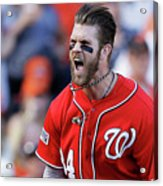 Madison Bumgarner and Bryce Harper Acrylic Print