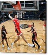 Miami Heat v New Orleans Pelicans Acrylic Print