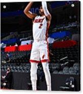 Miami Heat v Philadelphia 76ers Acrylic Print