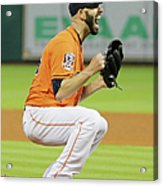 Mike Fiers Acrylic Print
