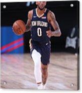 New Orleans Pelicans v Brooklyn Nets Acrylic Print