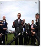 Nigel Farage Resigns As Leader Of UKIP Acrylic Print