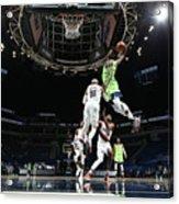Portland Trail Blazers v Minnesota Timberwolves Acrylic Print