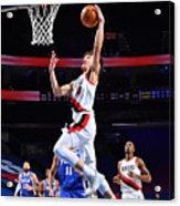 Portland Trail Blazers v Philadelphia 76ers Acrylic Print
