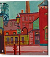 Middle Street in Lowell MA Acrylic Print