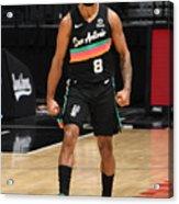San Antonio Spurs v LA Clippers Acrylic Print