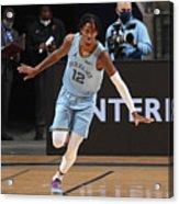 San Antonio Spurs v Memphis Grizzlies Acrylic Print