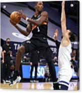 San Antonio Spurs v Minnesota Timberwolves Acrylic Print