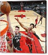 San Antonio Spurs vs. Chicago Bulls Acrylic Print