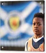 Scotland U16 v Northern Ireland U16 - Victory Shield Acrylic Print
