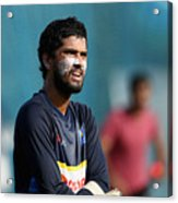 Sri Lanka Nets Session Acrylic Print