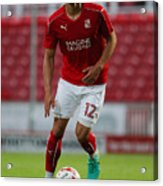 Swindon Town v Swansea City - Pre-Season Friendly Acrylic Print